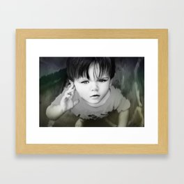 How to Disappear  Framed Art Print