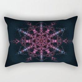 Transition from Chaos Mandala Rectangular Pillow