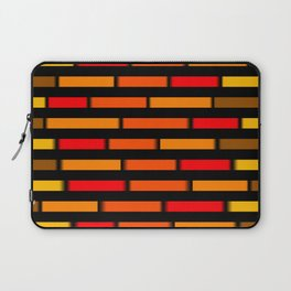 Red Orange and Yellow Laptop Sleeve