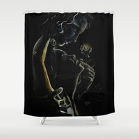 passion Shower Curtains featuring Passion by LisaBCreations