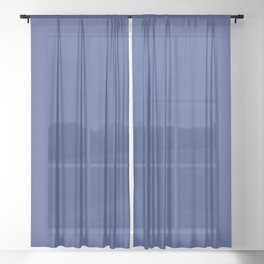 Resolution Blue Sheer Curtain