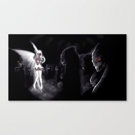 Our pain  White Canvas Print