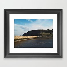 East Cliff Framed Art Print