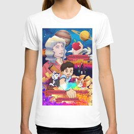 Niels Feynman | New comic cover T-shirt