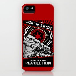 Join the Empire support the revolution apple iPhone 4 4s 5 5s 5c, ipod, ipad, pillow case and tshirt iPhone Case