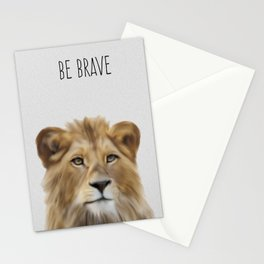 Lion Safari Nursery,  Stationery Cards