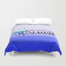 Always Deer Duvet Cover