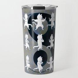 Tai Chi Cat Moves #1 Travel Mug