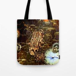 Steampunk, micropphone Tote Bag