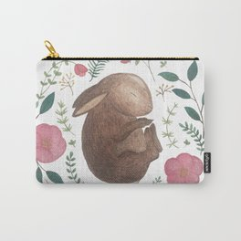 Sleeping Bunny Carry-All Pouch