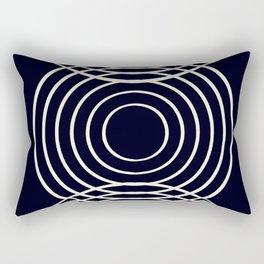 Life Balance Black Rectangular Pillow