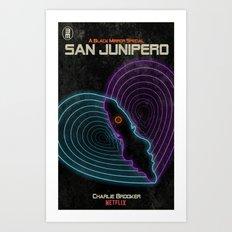 San Junipero Art Print