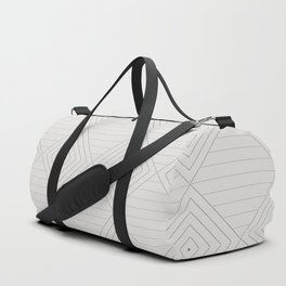 Line Joins Duffle Bag