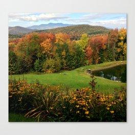 Warren Vermont Foliage Canvas Print