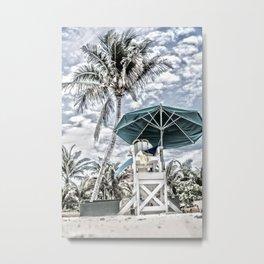 The Lifeguard Sanctuary Metal Print