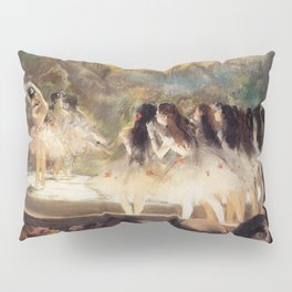 Ballet At The Paris Op Ra 1877 78 By Edgar Degas | Reproduction | Famous French Painter Pillow Sham