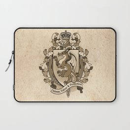 Dragon Coat Of Arms Heraldry Laptop Sleeve