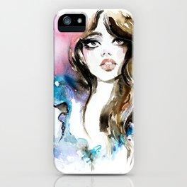 Fashion illustration 2017/11 iPhone Case