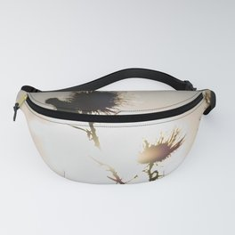 milk thistle silhouette Fanny Pack