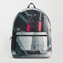 Urban Snowstorm Backpack