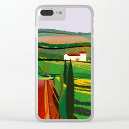 Farm Fields No. 8 Clear iPhone Case