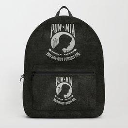 POW MIA Flag - Prisoner of War - Missing in Action Backpack