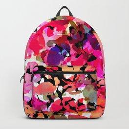 Hawaiian Batik Floral Backpack