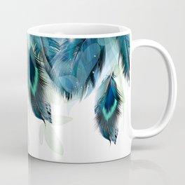 DREAMY FEATHERS & LEAVES Coffee Mug