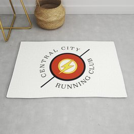 Central City running club Rug