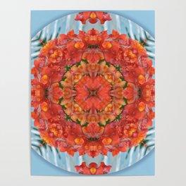 Mandala to Achieve Freedom Poster