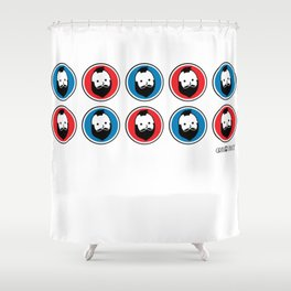 U S of A Shower Curtain