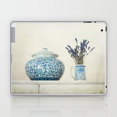 Lavender with Ginger Jar and Jug Laptop & iPad Skin