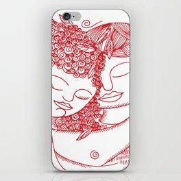 LOVE FOUR iPhone Skin