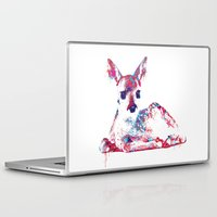 fawn Laptop & iPad Skins featuring Fawn by lauramaahs