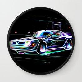 Blaze Wall Clock