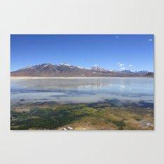 Bolivian Salt Flats Canvas Print