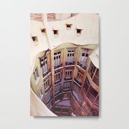 La Pedrera - Barcelona Metal Print