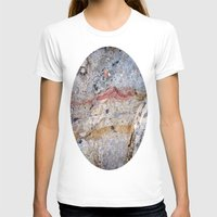 mineral T-shirts featuring Mineral Vein by LilyMichael Photography