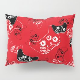 Video Game Red Pillow Sham