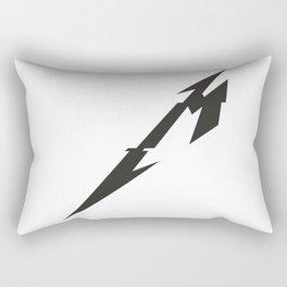 Metal Sign Rectangular Pillow
