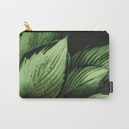Vintage Japanese Hosta Carry-All Pouch