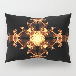 Fire Cross Pillow Sham