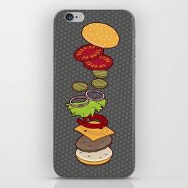 cheeseburger exploded iPhone Skin
