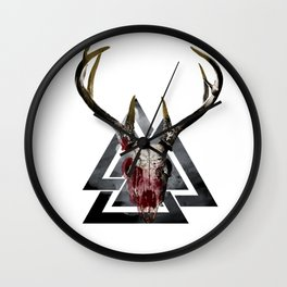 Odin's Fury Wall Clock