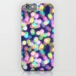 Coloured Bokeh iPhone Case