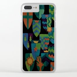 Shields of Dreams Clear iPhone Case