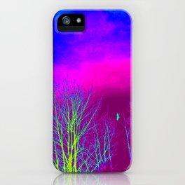 Magenta Sky iPhone Case