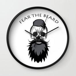 Fear The Beard ! Wall Clock