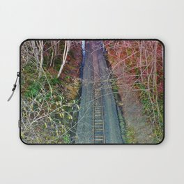 Down the Tracks Laptop Sleeve