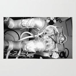 Mercury Atlas 9 Rug